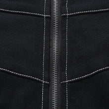 Load image into Gallery viewer, Contrast Trim Zip-Up Skirt