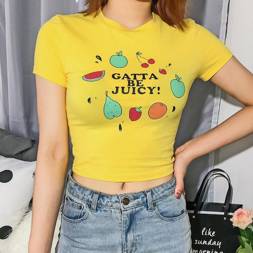 Fruity Graphic Top