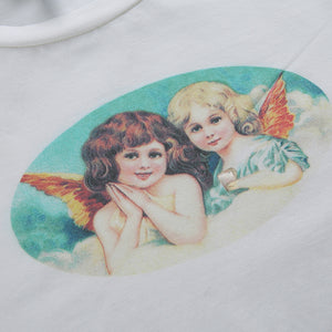 Twin Angels Crop Top (4 Colors)
