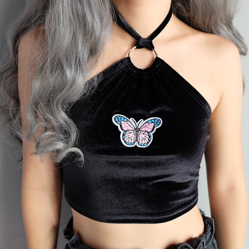 Butterfly Halter Top