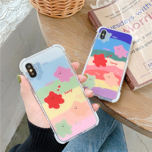 Gummy Bear Colorful Layers iPhone Case