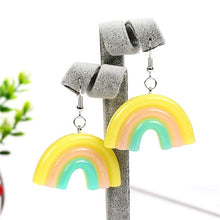Load image into Gallery viewer, Pastel Rainbow Earrings