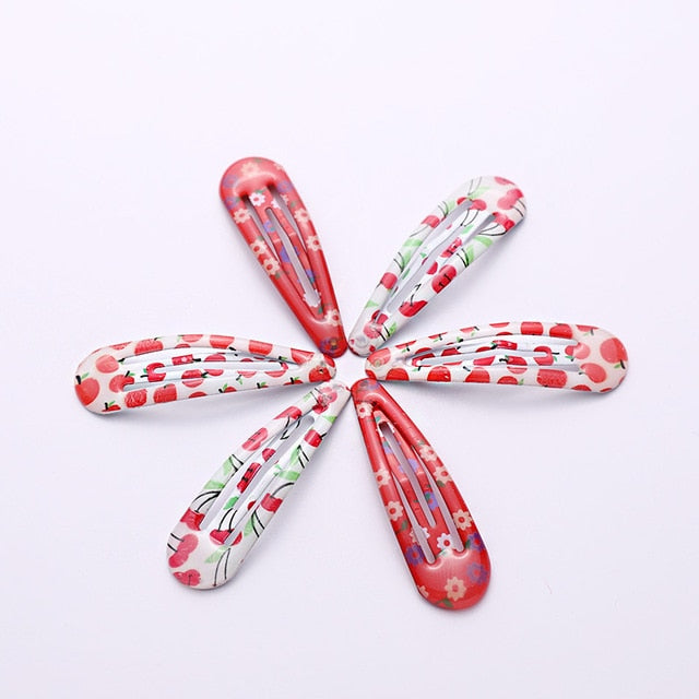 Fruity Pattern Hair Clip