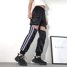 Load image into Gallery viewer, Streetwear Cut-Out Joggers