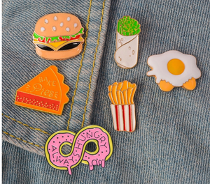 Gourmet Cool Metal Pins