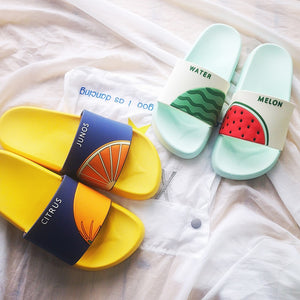Cool Fruity Slippers