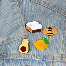 Load image into Gallery viewer, Gourmet Cartoon Pins