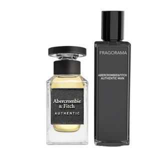 Authentic Man EdT 3ml Parfyme Abercrombie & Fitch