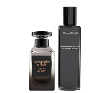 Authentic Night EdT 3ml Parfyme Abercrombie & Fitch