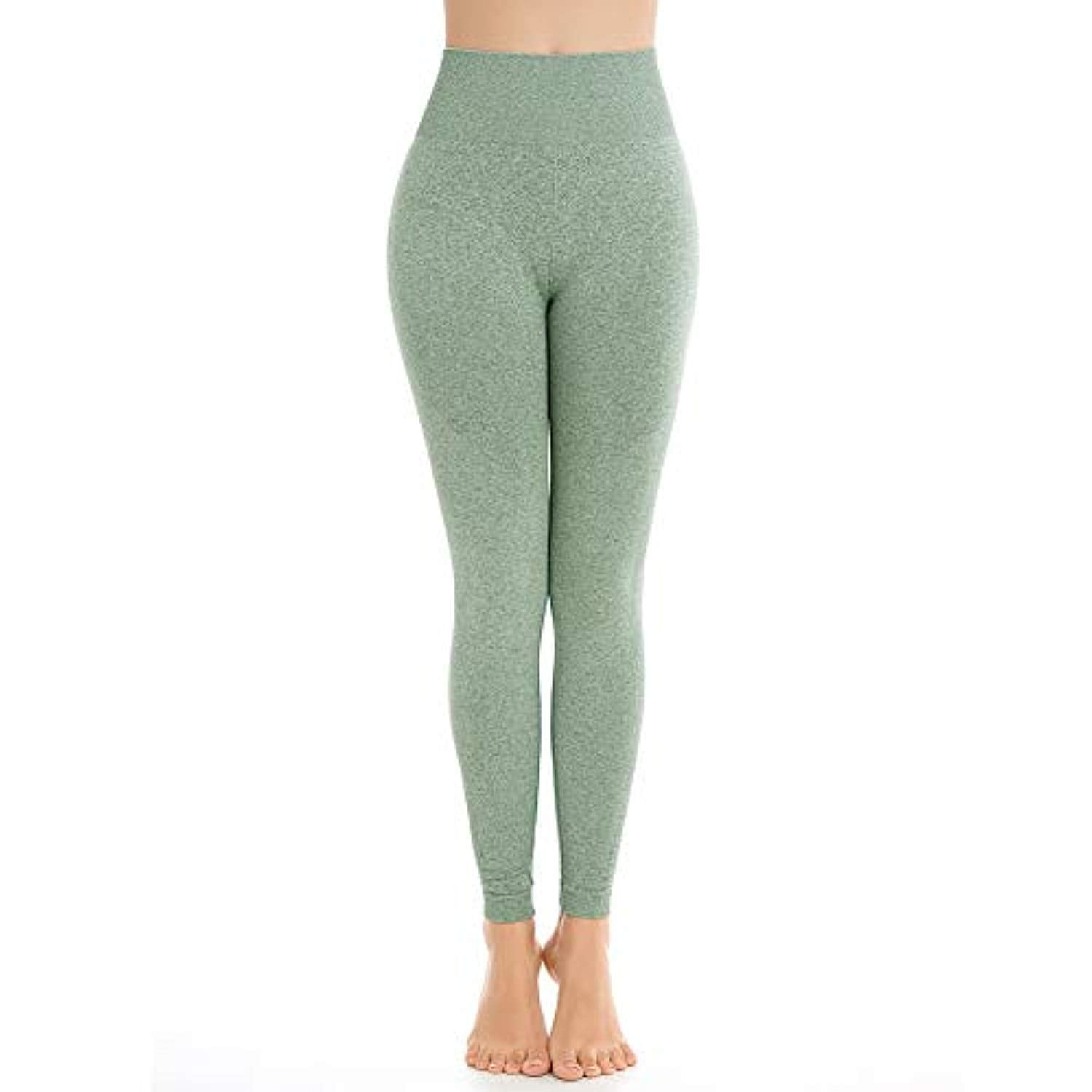 abcc61dbf9fb03 Aoxjox Yoga Pants for Women High Waisted Gym Sport Ombre Seamless Leggings