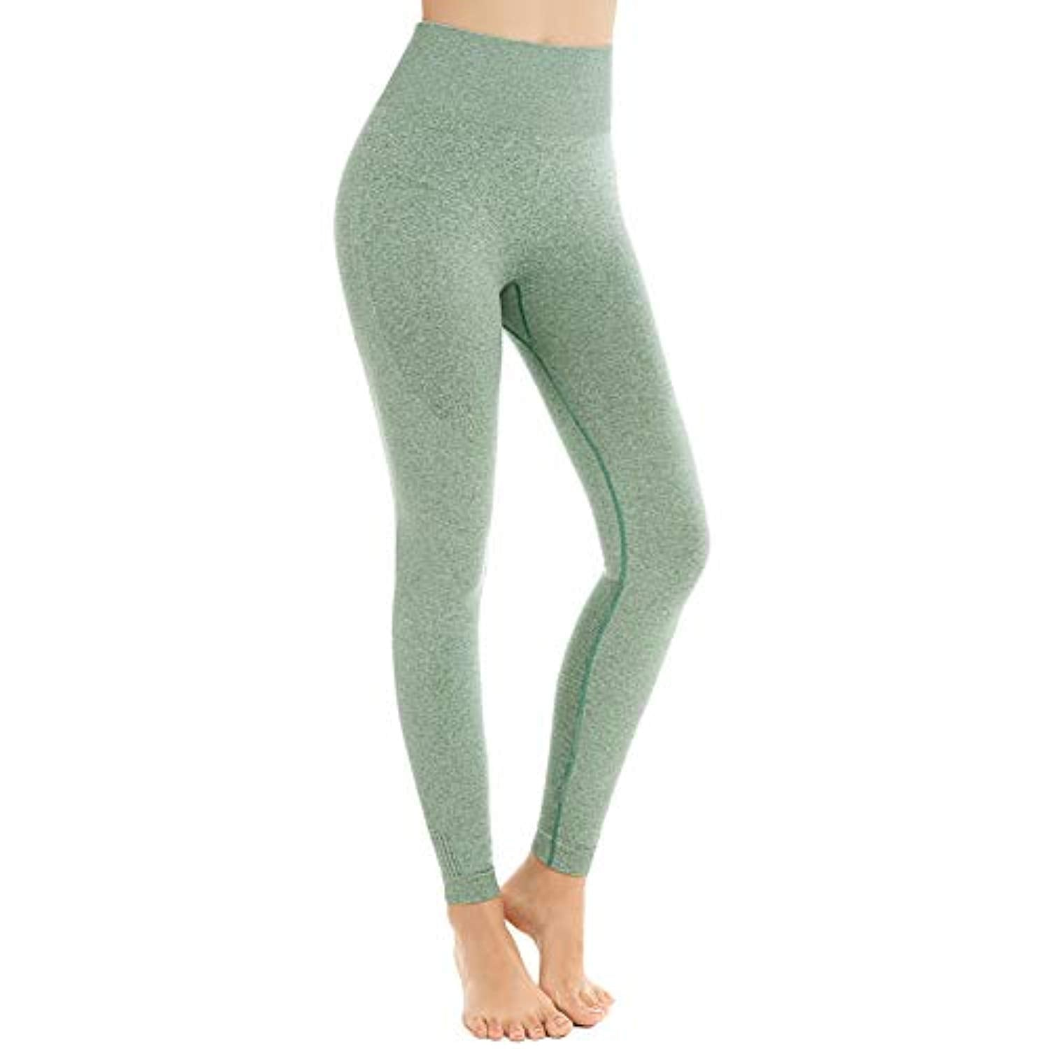 Aoxjox Womens Leggings High Waisted Gym Tummy Control Contour Seamless Workout Leggings