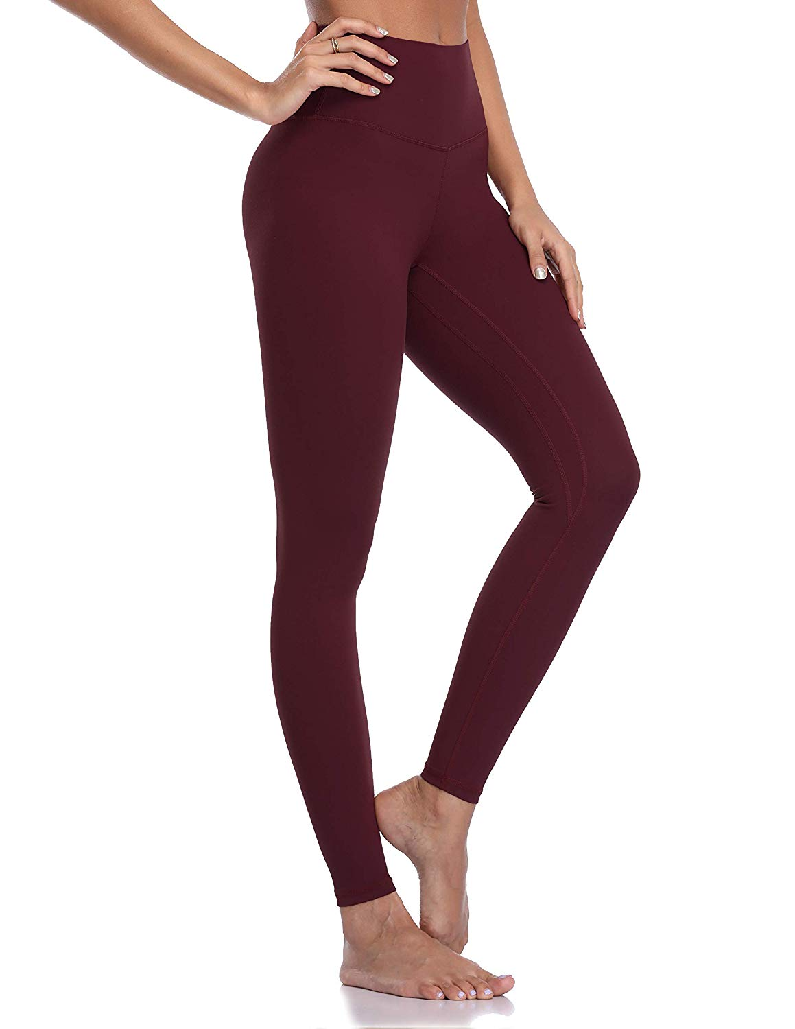 420ad01599433 Colorfulkoala Women's Brushed Buttery Soft High Waisted Leggings Full  Length Yoga Pants