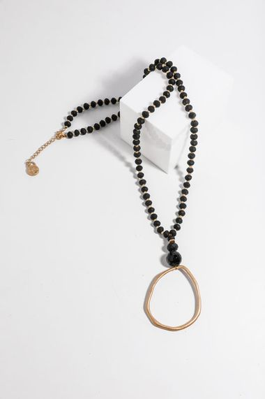Clancy Necklace - Black