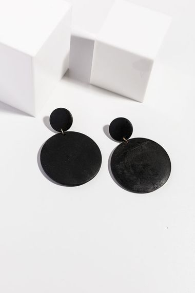 Langley Earrings - Black