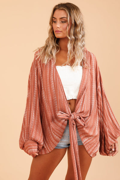 Fantasia Wrap Top - Taurus