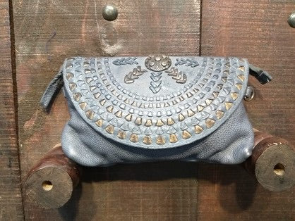 Drifter  Clutch - Denim