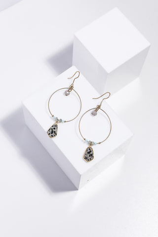 Pino Earings - Speckle