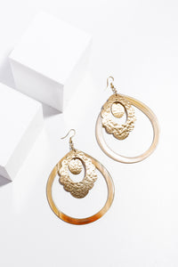 Abbey Earrings-Lava