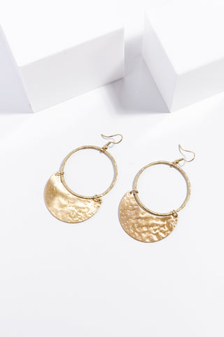 Lima Earings Gold