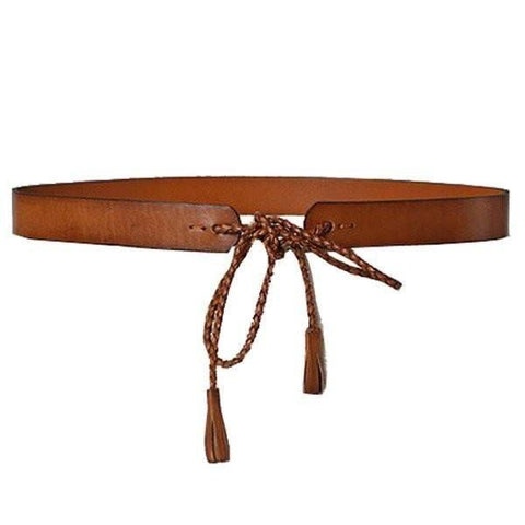 Addison Road Leather Belt Tan