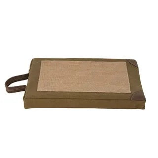 HERBERT CANVAS KNEELER
