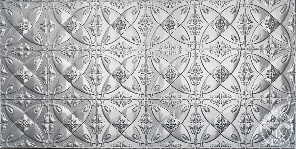Carousel Pressed Tin Panel
