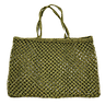 Olive Jute String Shopper