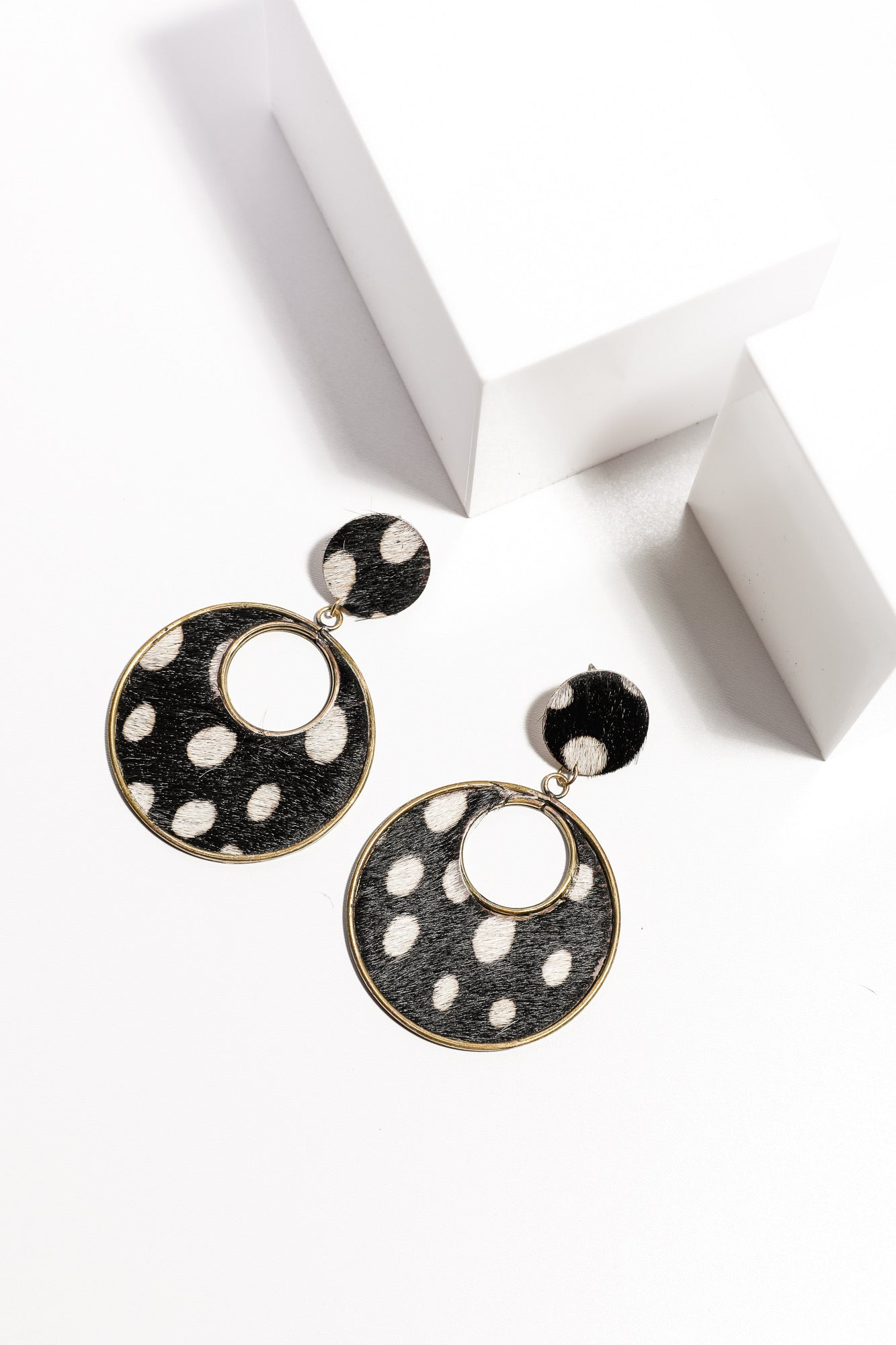 Cougar Earings  - Dots