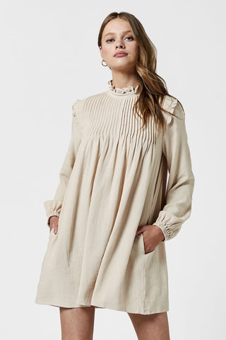 MVN THE LABEL Modern Romance Dress - Beige