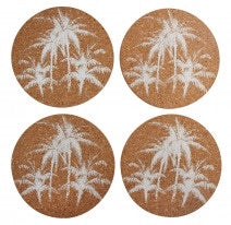 Cork Coasters -Palm