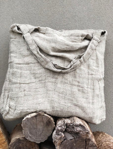 Rustic Oversized Linen Bag