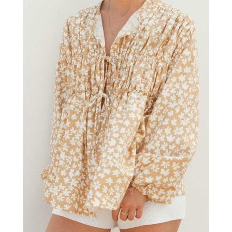 Penny Smock Blouse - Daisies