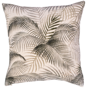 Velvet Printed Cushion - Foxtail