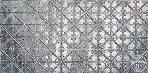Snowflake Pressed Tin Panel