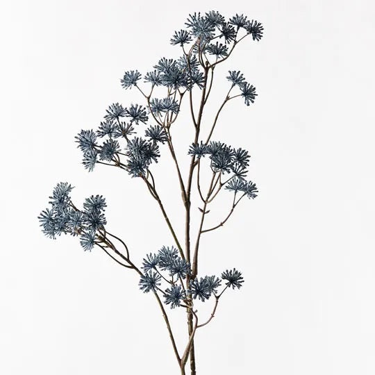 Aralia Spray - Blue 83cm