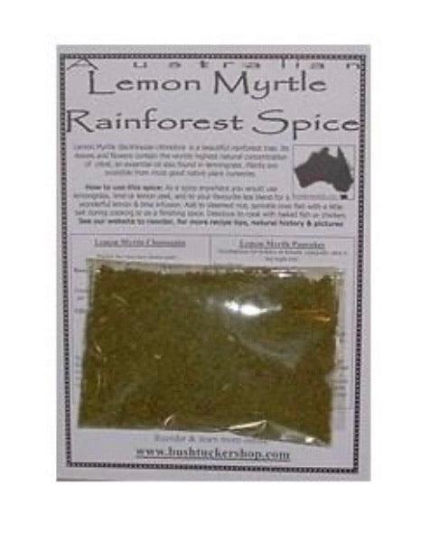LEMON MYRTLE SPICE With Recipe Card