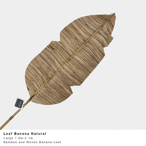 Banana Leaf - Natural