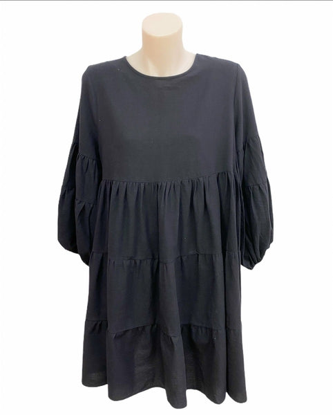 Lulu Locco Dress by Bagira - Black