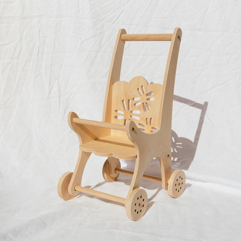 Flower Dolly Pram