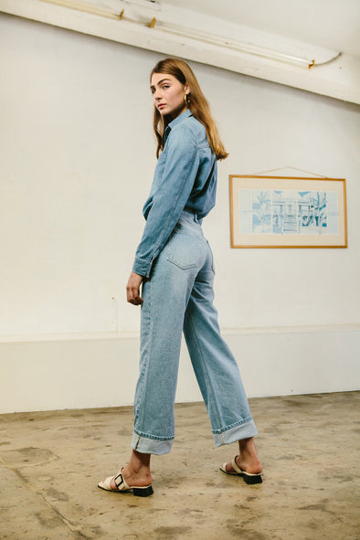 Amy Former - The Most Sustainable Vintage Wash Denim On The Market