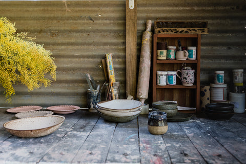 outdoor ceramics studio Tamborine Mountain