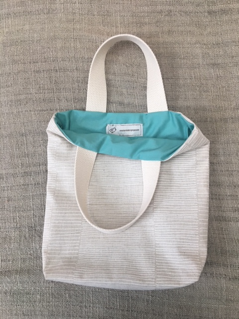 Loom and Loop Weaving Storage Tote Bag