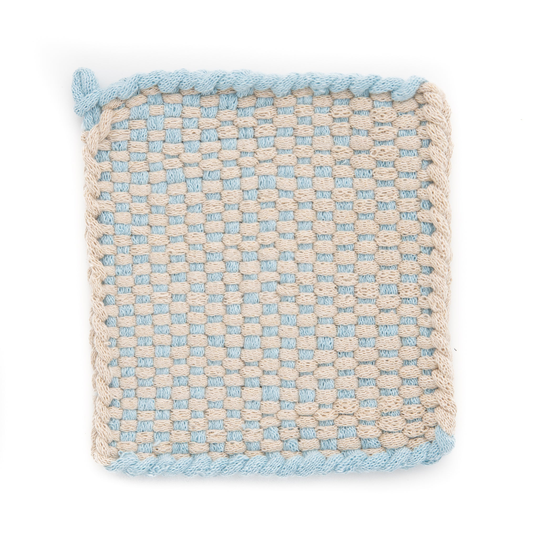 Open Sky Collection in Flax and Powder Blue