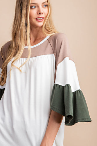 Marley Flutter Sleeve Top