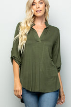 Load image into Gallery viewer, Taylor V Neck Top