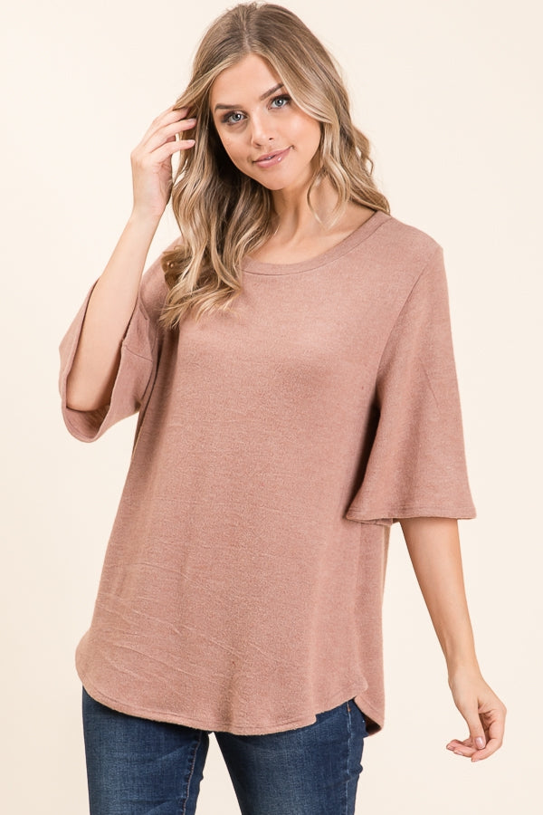 Camille Cashmere Feel Top