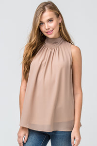 Ava Mock Neck Top