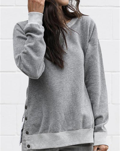 Skylar Split Side Sweatshirt
