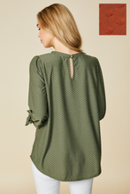 Load image into Gallery viewer, Grace Tie Sleeve Top