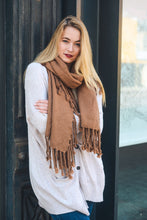 Load image into Gallery viewer, Willow Tassel Scarf